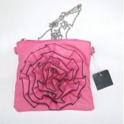 Pink purse evening bag