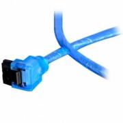 Cablu SATA3 Akasa AK-CBSA01-05BV, revizia 3.0, 50cm, albastru UV