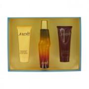 Liz Claiborne Mambo Cologne Spray + Body Wash + Body Moisturizer Gift Set Men's Fragrance 446326