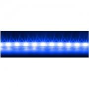 Banda LED Lian Li LED50-B, 53cm, flexibila, carcasa plastic, 20x LED Blue