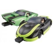 Ben 10 Ultimate Alien - Benmóvil y coche de kevin (producto Bandai)