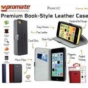 Promate Tava 5C Book-Style Flip Case with Card