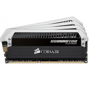 Corsair CMD16GX3M4A1866C9 Dominator Platinum Memoria per Desktop di Livello Enthusiast da 16 GB (4x4 GB), DDR3, 1866 MHz, CL9
