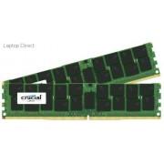 Crucial 64GB (32GBx2) DDR4-2400 Registered ECC 1.2V Server Memory Module