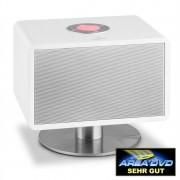 Auna LivinQube, 50 W max., aktív Bluetooth hangszóró, fehér (BTS6-LivingQube WH)