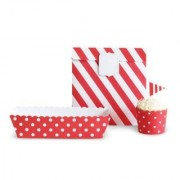 Paper Eskimo Party Decoration Kit Red Candy