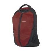 Manhattan Mochila Airpack de Nílon/Poliester para Laptop 15.6'' Negro/Rojo