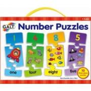 Puzzle cu numere 3 piese