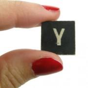 Magnético-Figura decorativa de la letra Y