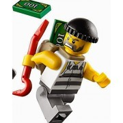 Lego City Minifigure Bad Guy