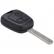 Remote Key Case For Citroen C1 C2 C3 /Pluriel C4 C5 C8 /Xsara Picasso Fob 2 Button