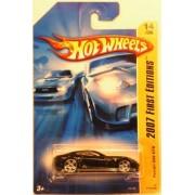 Mattel Hot Wheels 2007 First Edition Series 1:64 Scale Die Cast Metal Car #14 of 36 - Black Sport Coupe Ferrari 599 GTB by Hot Wheels