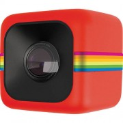 Camera Video de Actiune Polaroid Sport Cube Full HD Rosu
