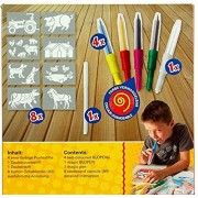 Toys Bhoomi Malinos 5+1 Magic Blopens with Bonus Material 300965 - MADE IN GERMANY