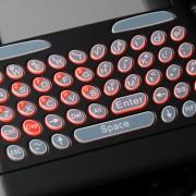 Télécommande clavier + touch pad