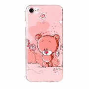 Husa Silicon TPU Apple iPhone 7 Little Bear Roz