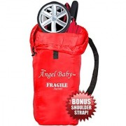 Angel Baby Travel Gate Check Bag for UMBRELLA Strollers - Made of DURABLE DOUBLE STRENGTH Polyester with Shoulder Strap