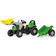 Tractor cu pedale şi remorcă Rolly Kid Deutz-Fahr