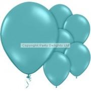 Globos turquesa - 12'' globo del látex (paquete de 10)