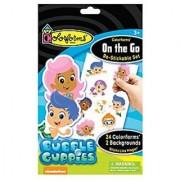Colorforms Brand Bubble Guppies On The Go Restickable Set
