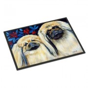 Caroline's Treasures What A Pair Of Pekingese Doormat 7193JMAT / 7193MAT