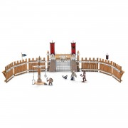 Set Figurine Schleich Arena De Lupta Cu Accesorii Eldrador - 42273