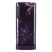 LG 215 L 5 Star Direct-Cool Single Door Refrigerator (GL-D221APAN.DPAZEBN, Purple Aster)