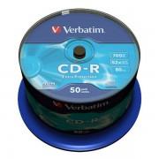 CD-R 52x 700MB Verbatim Extra Protection Tarrina 50 uds