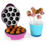 OneConcept Boogie Pop Cake Maker, 1300 W, rózsaszín (SHU4-Boogie-P)