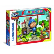 Clementoni 24731 - Mike the Knight Puzzle, 2x20 Pezzi