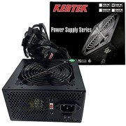 KENTEK 850 Watt 850W 120mm Fan ATX Flat Wire Power Supply 12V 2.3 EPS12V 2.92 SLI-ready PCI-Express SATA 20/24 PIN Intel AMD by KENTEK