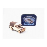 Gift in a Tin Corte Láser Madera Kit De Modelismo - clásico 4 x 4 Coche by Apples to Pears