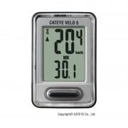 CatEye Velo 7 CC-VL520 - Compteur avec câble - argenté Compteurs de vélo