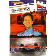 Hot Wheels Neon Orange & Blue IndyCar Series Real Riders JOHN ANDRETTI #43 - Window World by Hot Wheels