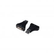 ASSMANN Displayport 1.1a Adapter DP M (jack)/DVI-I (24+5) F (jack) black