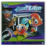 Занимателна игра Луми лайт светещ куб с 3D ефект