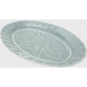 Platou oval tip cristal 34x23 cm