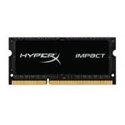 4GB DDR3 PC12800 1600MHz Kingston HyperX Impact SODIMM HX316LS9IB/4 laptop memoria
