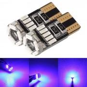 MZ T10 LED de despeje de luz azul 240lm 15-4014 SMD (12V / 2PCS)