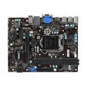 MSI H81M-E34 - Carte-mère - micro ATX - LGA1150 Socket - H81 - USB 3.0 - Gigabit LAN - carte graphique embarquée (unité centrale requise) - audio HD (8 canaux)