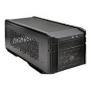 Cooler Master HAF 915F - Format ultra petit - mini ITX - pas d'alimentation ( ATX / PS/2 ) - noir - USB/Audio