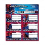 1 csomag Pókember iskolai etikett - 2012