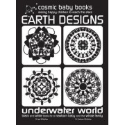 Earth Designs: Underwater World - Black and White Book for a Newborn Baby and the Whole Family: Underwater World: Special Gift for a