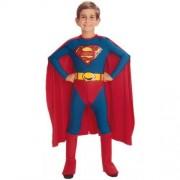 Boys Superman Fancy Dress Costume - Ages 5 - 7
