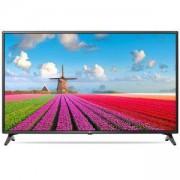 Телевизор LG 43LJ614V, 43 инча, LED Full HD TV, 1920x1080, 1000PMI, WiDi, WiFi 802.11ac, LAN, USB, Сив, 43LJ614V