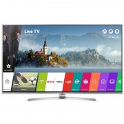 Televizor Smart LED LG 164 cm Ultra HD 65UJ701V, WiFi, USB, CI+, Silver