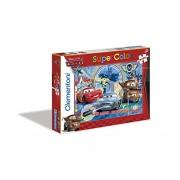 Clementoni Puzzle 24699 - Cars 2 - 2 x 20 pezzi