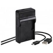 Hama Travel USB Canon LP-E6 încărcător baterie