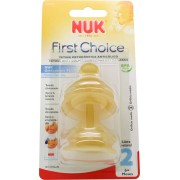 Nuk Tetina First Choice Latex M2 Leche 6-18 meses