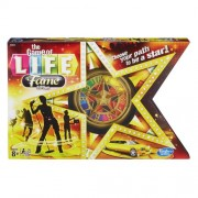 The Game of Life Money and Asset Board Game, Fame Edition by Hasbro